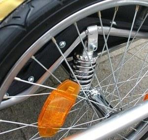 Reifen Fahrradanhänger KRANICH-66521-Kinderanhänger