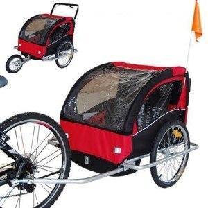 Fahrradanhänger Kinderanhänger Jogger-Anhänger 2in1-502