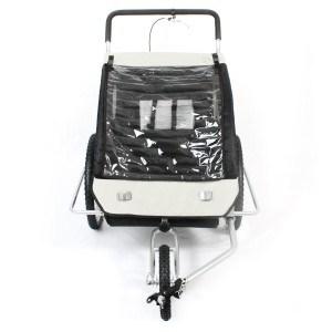 Regenschutz Fahrradanhänger SAMAX- 2in1-Fahrradanhänger-und-Jogger
