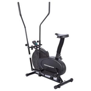 Ultrasport Basic Crosstrainer 250 TÜV/GS geprüft mit schwingenden oder fest positionierbaren Griffen.