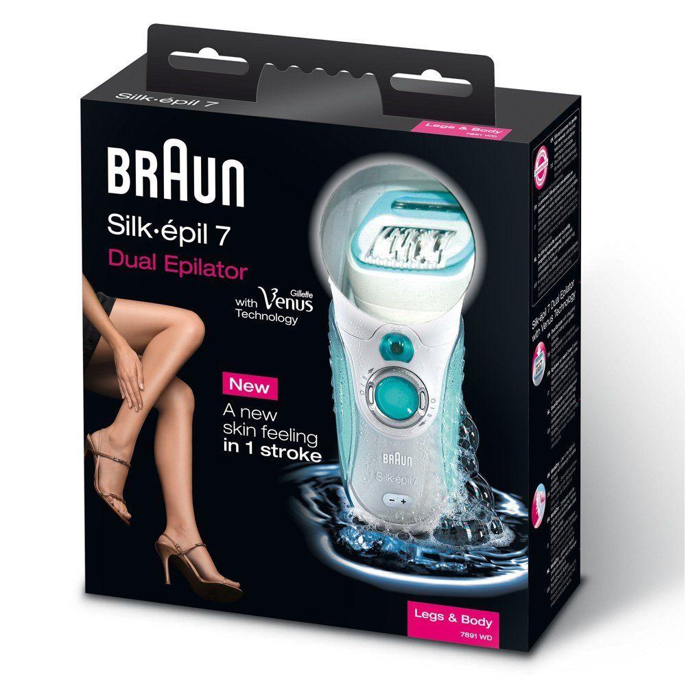 Verpackung Braun Silk %C3%A9pil 7 7891 Kabelloser Wet Dry Epilierer