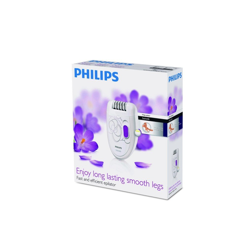 Verpackung Philips HP6400 Epilierer