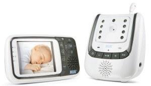 Mit diesem Babyphone können Sie Ihr Baby über einen Monitor überwachen.