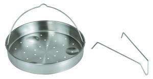 Der Aluminiumkernboden des Schnellkochtopf Oxid7 -Kochtopf 6L Induktionsboden