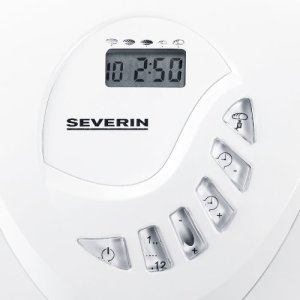 Das Display des Severin BM 3990 Brotbackautomat