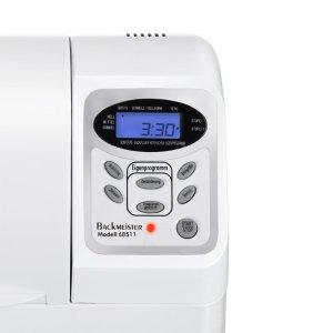 Das Display des Unold-electro 68511 Backmeister Extra