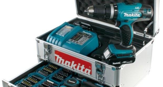 Komplettset Akkuschrauber Makita BHP453RHEX5