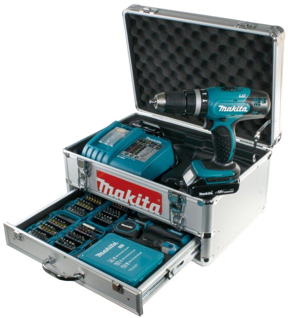 Akkuschlagschrauber Makita im Koffer