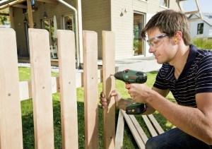 Anwendung Holzdecke Akkuschrauber Bosch PSR 14,4 LI 2 Expert