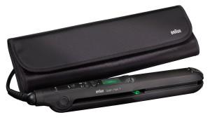 Glätteisen Braun-Satin-Hair-7-ST-730 Haarglätter Tasche