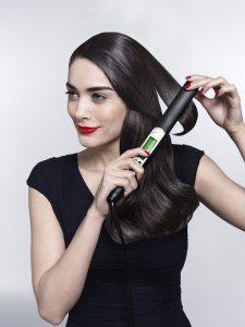 Glätteisen Braun Satin Hair 7ST 710 Haarglätter Anwendung