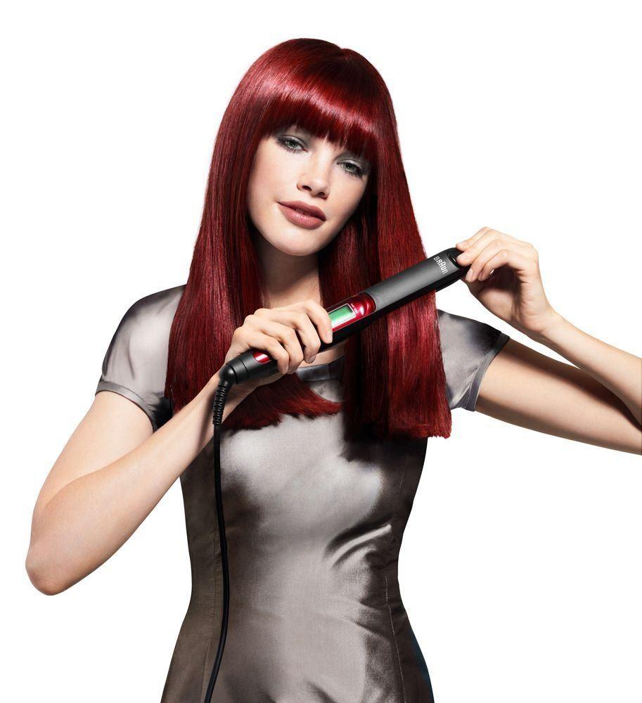 Braun Satin Hair Anwendung