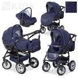 3-in-1 Kinderwagen von LCP KIDS