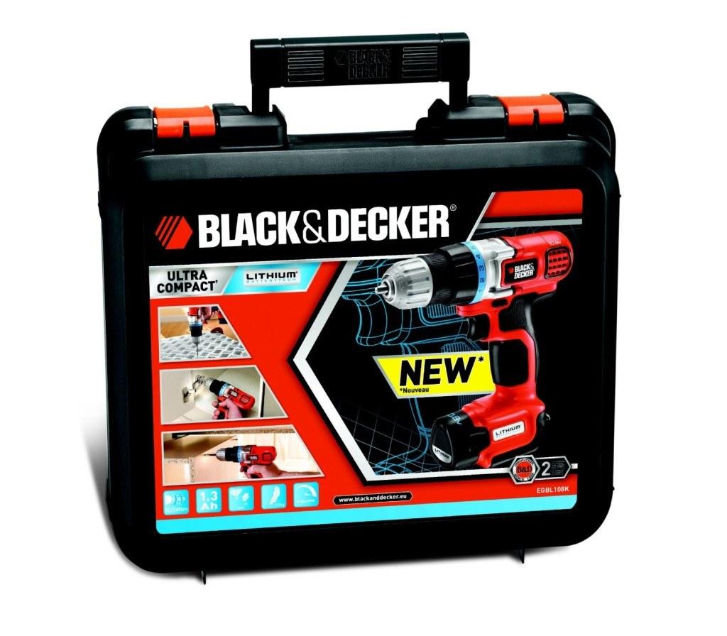 Akkuschlagschrauber Black & Decker im Koffer