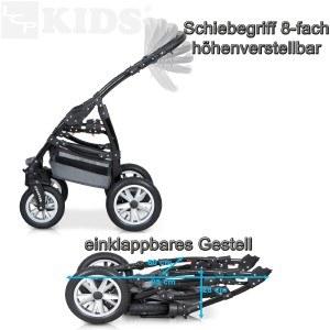 Schiebegriff Kombikinderwagen LCP Kids 3 in 1