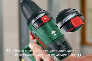 Akkuschrauber Bosch Stufen wechseln