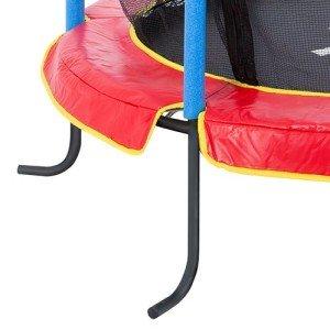 Das Das Ultrasport Indoortrampolin Jumper 140 hat stabile Füße.