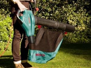 Der Auffangsack des Bosch Laubsauger ALS 25