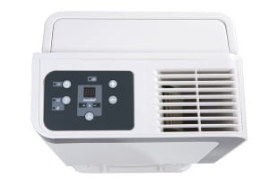Das Display des comfee Luftentfeuchter MDF2-20DEN3 (max. 20L in 24h)