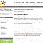 Mehr über saubere Luft und effektives Bekämpfen von Schimmel auf www.schimmel-schimmelpilz.com