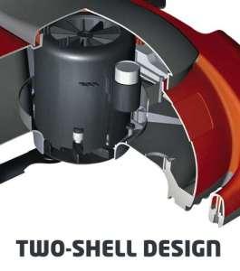 Vertikutierer Einhell RG-ES 1639 2-shell design