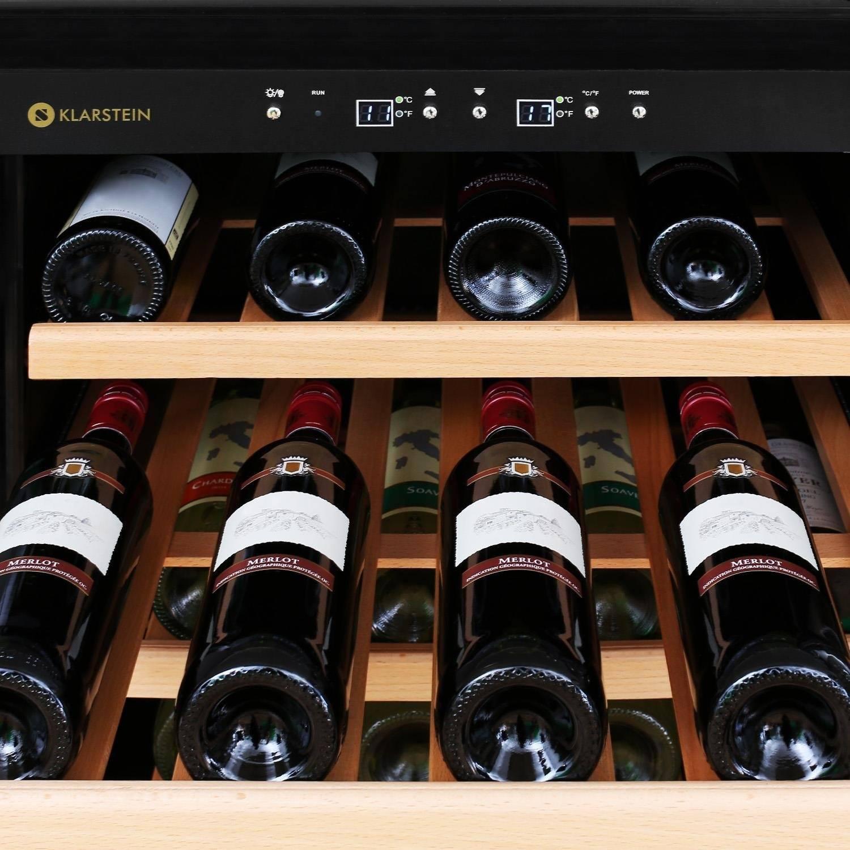 Klarstein Gran Reserva Design Weinkühlschrank detail