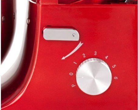 11 Zyon Rote Elektrische Kuechenmaschine Detail