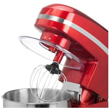 11 Zyon Rote Elektrische Kuechenmaschine Offen Mit Quirl