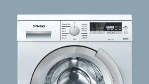 Frontansicht einer Siemens Waschmaschine