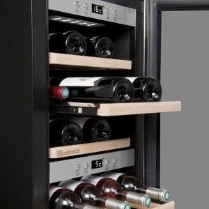 Zwei Zonen Weinkühlschrank-160