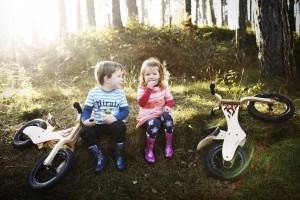 Anwendung Streetsurfing Kinder Lauflernrad Early Rider Classic
