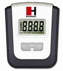 Der Hammer Ellyptech CT3 hat ein übersichtliches Display.