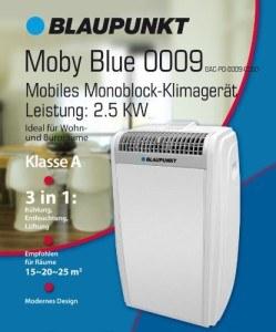 blaupunkt mobiles klimager t moby blue 0009 test 2018. Black Bedroom Furniture Sets. Home Design Ideas