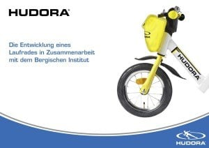 Entwicklung HUDORA 10903 - Laufrad One2Run new generation weiß/gelb