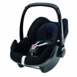 Bebe Confort Kindersitz Klasse 0+ Pebble Total Black