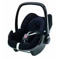 Bebe Confort Kindersitz Klasse 0+ Pebble Total Black