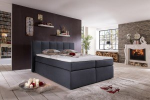 boxspringbett bea hotelbett 180 x 200 cm im praxistest 2018. Black Bedroom Furniture Sets. Home Design Ideas