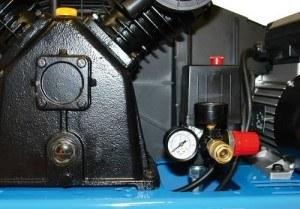 Barometer am Güde Kompressor