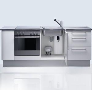 Durchlauferhitzer Stiebel Eltron in der Küche montiert