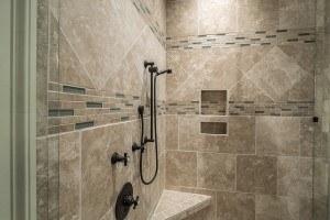 Duschbereich eines Badezimmers