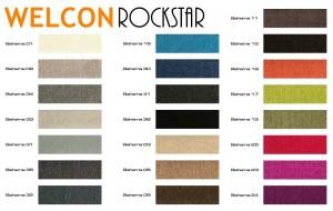 Farbauswahl Luxus Boxspringbett von WELCON 180x200 **22 Farben**
