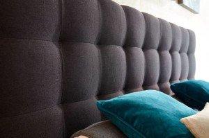 Kopfteil Luxus Boxspringbett von WELCON 180x200 **22 Farben**