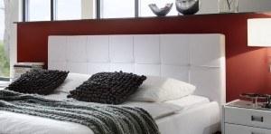Kopfteil SAM® Polsterbett Zarah in weiß 180 x 200 cm