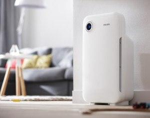 Luftreinigung im Wohnzimmer