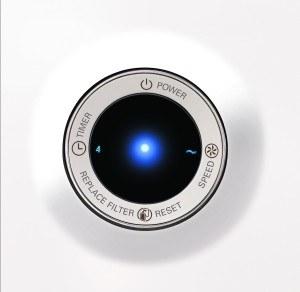 Sensor des Luftreinigers von Philips
