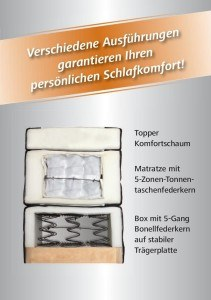 Skizze Wellness Edition 11770 Boxspringbett