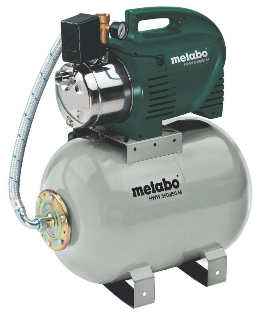 Metabo Hauswasserwerk im Test