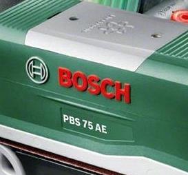 Bosch PBS 75 A Bandschleifer Universal