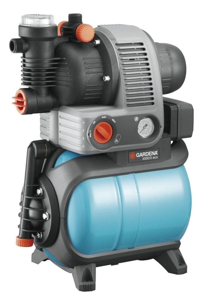 Das Gardena Hauswasserwerk im Test 4000/5 eco Comfort, 01754-20