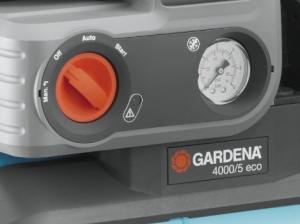 Gardena Hauswasserwerk Test Einstellung 5000/5 eco Comfort